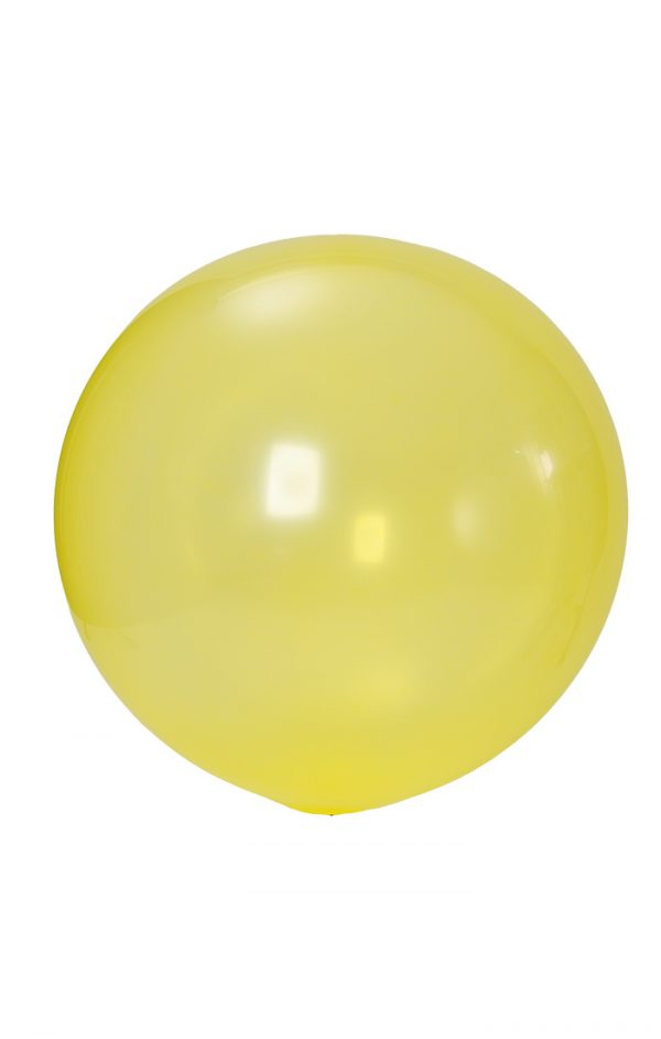 A very big and round 36 inch latex balloon